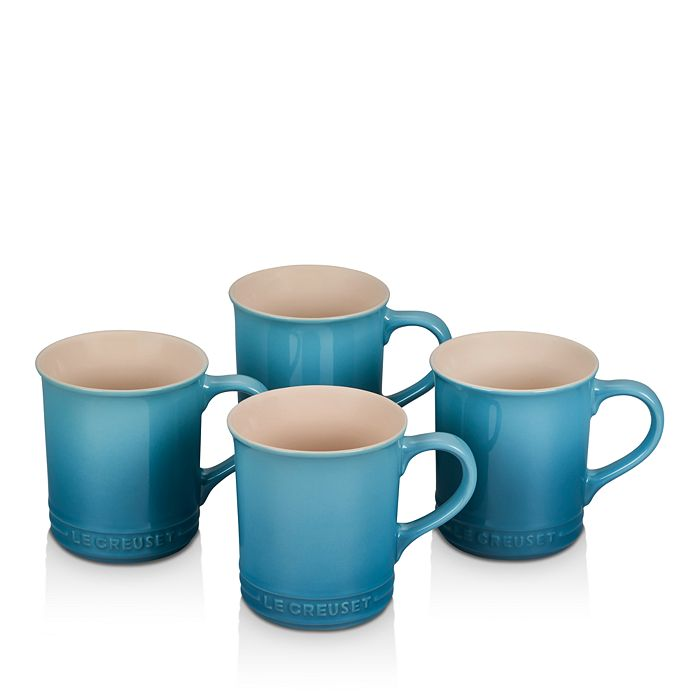 Le Creuset - Stoneware Mugs, Set of 4