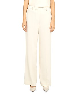Theory - Admiral Crepe Wide-Leg Pants