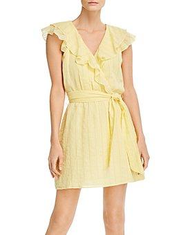 Parker - Roscoe Faux-Wrap Mini Dress