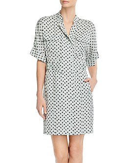 Equipment - Absalone Printed Shirtdress