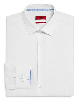 HUGO - Koey Micro Slim Fit Dress Shirt