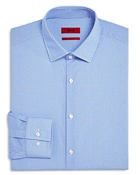 HUGO - Kenno Circle Print Slim Fit Dress Shirt