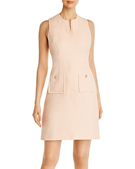 KARL LAGERFELD PARIS - Tweed Shift Dress