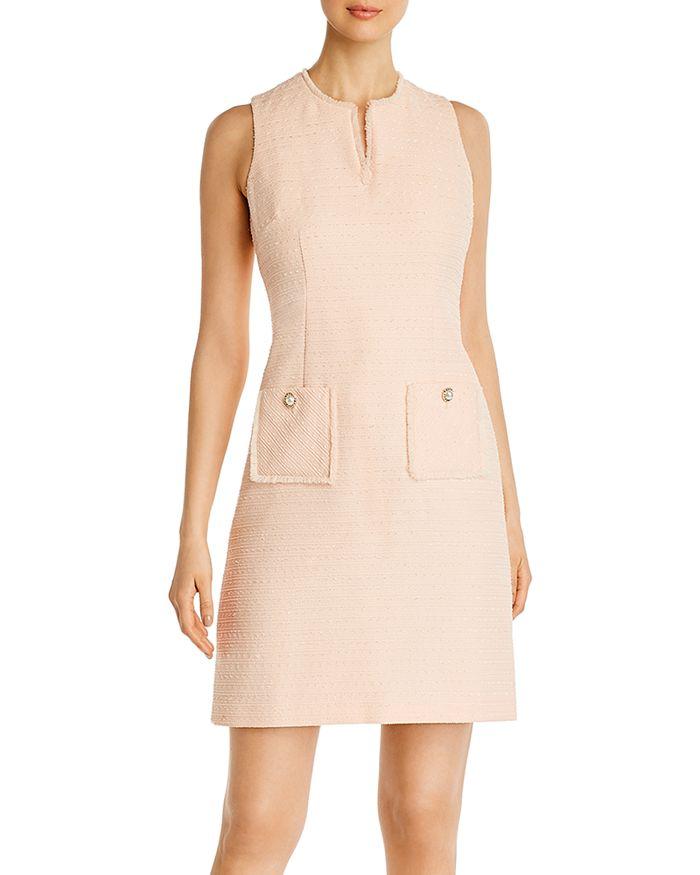 KARL LAGERFELD PARIS - Tweed Shift Dress