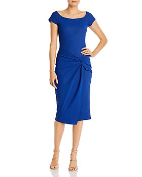 Chiara Boni La Petite Robe - Mena Knot-Front Sheath Dress