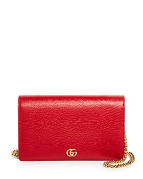 Gucci - GG Marmont Mini Leather Chain Bag