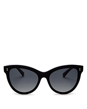 Valentino - Women's Polarized Cat Eye Sunglasses, 54mm