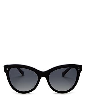 Valentino Women's Polarized Cat Eye Sunglasses, 54mm