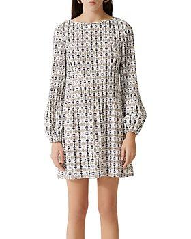 Maje - Rockina Pleated Shift Dress