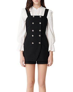 Maje - Ipyta Button-Front Romper
