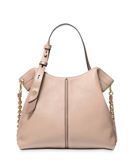 MICHAEL Michael Kors - Downtown Astor Medium Leather Shoulder Bag