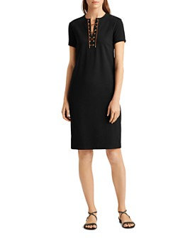 Ralph Lauren - Faux-Suede Shift Dress