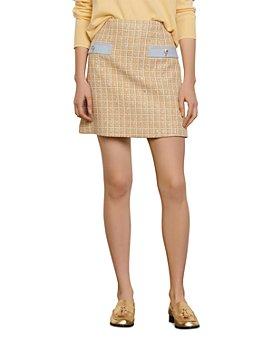 Sandro - Melle Tweed Mini Skirt