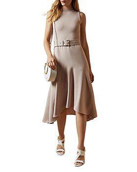 Ted Baker - Corvala Belted Fluted-Skirt Midi Dress