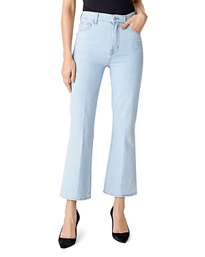 J Brand Julia High-Rise Flared Jeans in Surf-Women