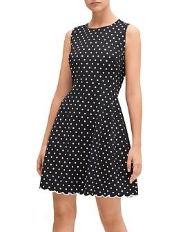 kate spade new york - Cabana Dot Flared Dress