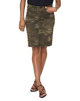 NYDJ - 5-Pocket Jean Skirt in Camo