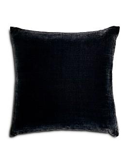 """Aviva Stanoff - Silk Velvet Knife Edge Decorative Pillow, 20"""" x 20"""""""