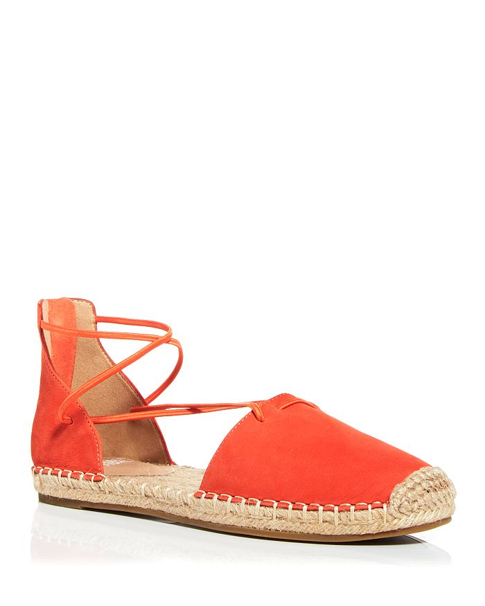 Eileen Fisher - Women's Lace Strappy Espadrille Flats