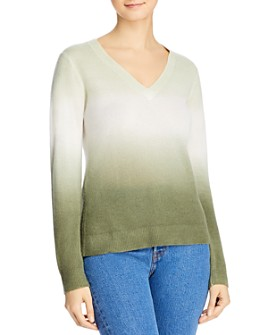 Minnie Rose - Dip Dyed Cashmere Sweater