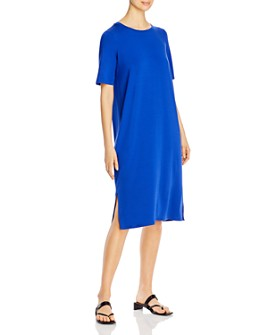 Eileen Fisher - Round Neck T-Shirt Dress