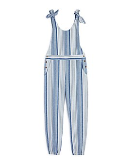 Habitual Kids - Girls' Devin Striped Sleeveless Jumpsuit