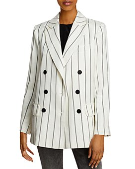 Anine Bing - Ryan Double-Breasted Blazer