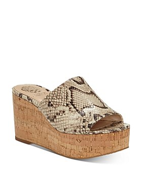 VINCE CAMUTO - Women's Gadgen Slip On Platform Sandals
