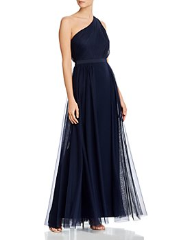 Aidan Mattox - One-Shoulder Gown - 100% Exclusive