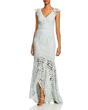 ML Monique Lhuillier - Lace Evening Gown