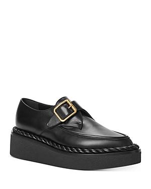 Valentino Garavani Women\\\'s Single-Monk-Strap Platform Dress Shoes