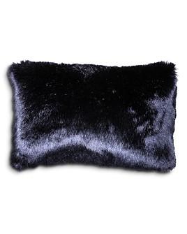 "Aviva Stanoff - Navy Bark Decorative Pillow, 12"" x 18"""