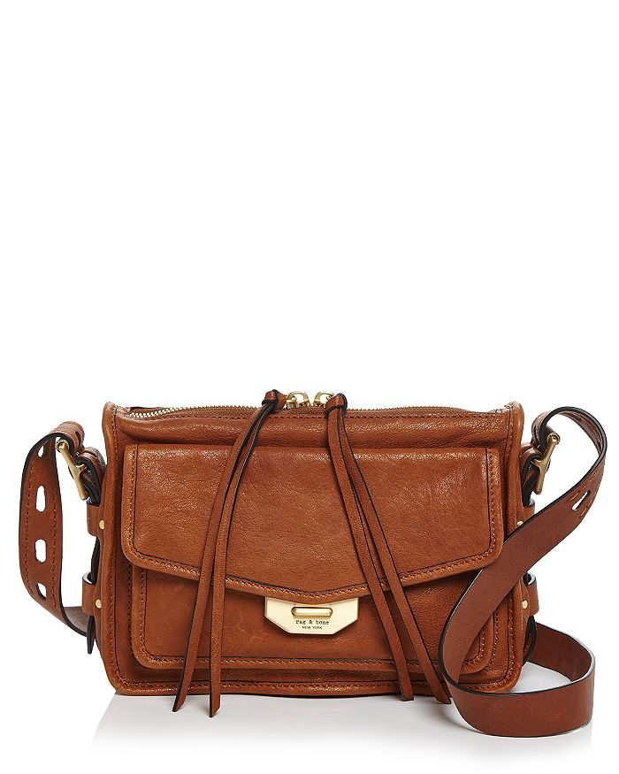 rag & bone - Small Field Leather Messenger Bag