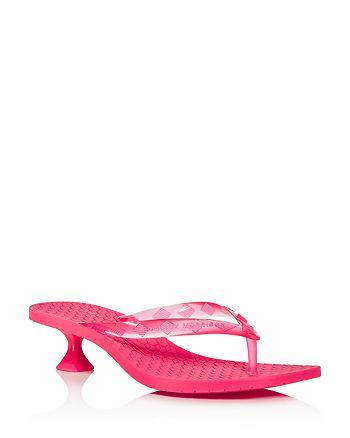 Sigerson Morrison - Women's Jewel Kitten-Heel Sandals