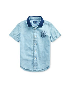 Ralph Lauren - Boys' Cotton Chambray Polo - Little Kid