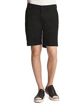John Varvatos Star USA - Johnny Cotton-Blend Solid Slim Fit Shorts