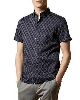 Ted Baker - Diamond Print Shirt