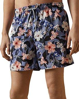 Ted Baker - Inspect Floral Swim Shorts