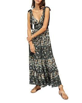 Free People - Let's Smock About It Maxi Dress