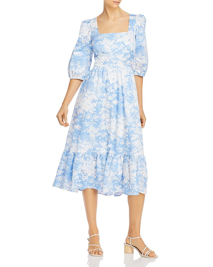 WAYF - Mockingbird Cutout Midi Dress
