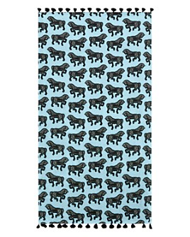 Matouk - Faubourg Cotton Horse-Printed Beach Towel