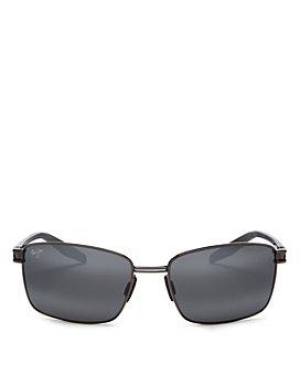 Maui Jim - Men's Cove Park Polarized Square Sunglasses, 60mm Brand Name