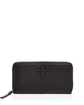 Tory Burch - McGraw Mini Leather Continental Zip Wallet