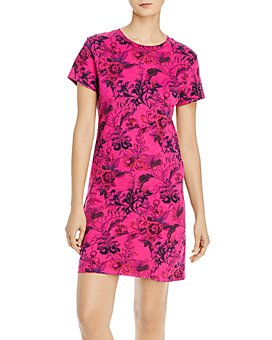 PAM & GELA - Floral-Print Tee Dress