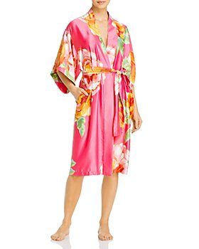 Natori - Serafina Floral-Print Wrap Robe