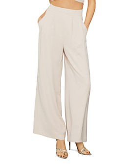 BCBGMAXAZRIA - Wide-Leg Twill Trousers