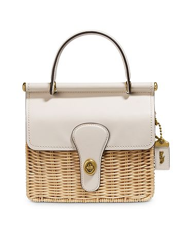 COACH - Willis 18 Mini Wicker Crossbody