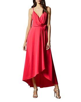 Ted Baker - Leaanah Dipped-Hem Wrap Maxi Dress