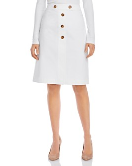 Lafayette 148 New York - Taya Button-Front Skirt
