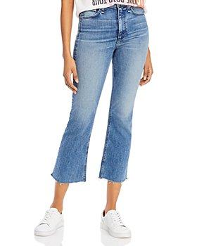 rag & bone - Nina Cropped Flare-Leg Jeans in Freya